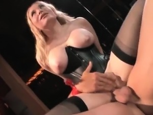 Nasty blonde slut goes crazy sucking part6