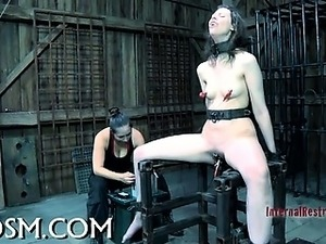 First timer in hardcore bdsm sex