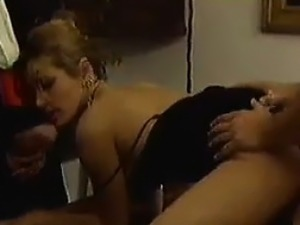 Rich MILF In A Threesome
