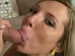 Blonde blowjob slut