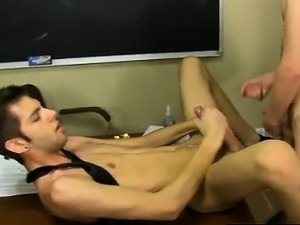 Hot gay sex Elijah White and Max Morgan are stuck grading th
