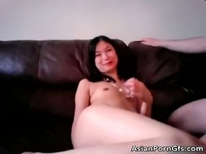 Nasty asian slut getting screwed up the part3
