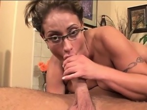 Eva Notty Swallows Her First Cum Load
