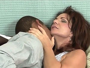 Fredrick Way visit his friends mom - amazing dirty MILF slut Deauxma for...