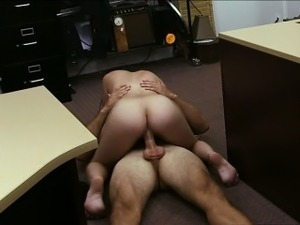 Natural tits latina gets laid for cash