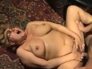 Thick Old Woman Loving That Hard Cock