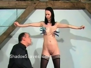 Cruel tit tortures and extreme bdsm of Emily