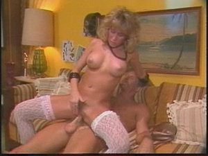 Sexy, tanned Candie Evans strutts into a room and cocks instantly get hard....