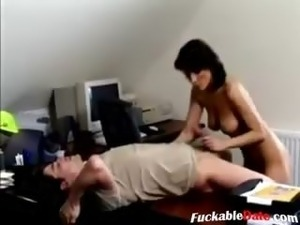 Horny German Teacher Fuck a Student