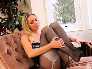 Spread legs and ultra horny model