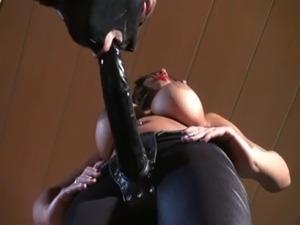 Mistress uses her bitch