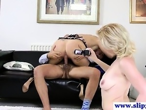 Young euro sluts pleasing old man