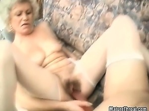 They are old but they can't get enough of pussy licking and