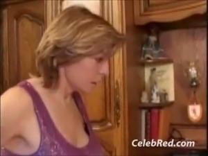 French Whores Sucks French Cock Anal Big tits Blonde Blowjob Cumshot European...