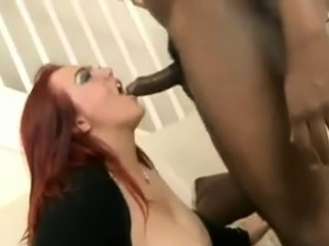 Chubby redheaded Brit gets IR fucked