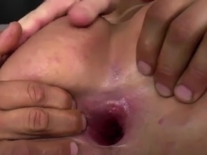 Horny Guys Tag Team A Sexy Shemale Babe