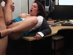 MILF sell his pussy for her husband bail
