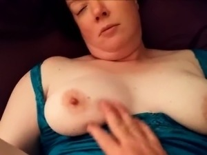Older BBW Amateur is in Heaven With his Cock