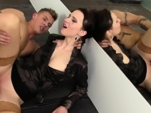 Piss lover rides dick