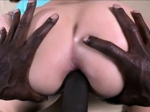 Juicy white ass Maddy gets ass fucked
