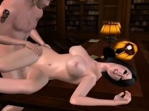 Every wonder what it would be like to fuck in a library?