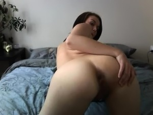Sammii1 Shy Teen Fingers Pussy From Behind
