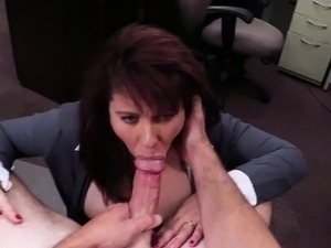 Seductive and MILF woman gets fucked
