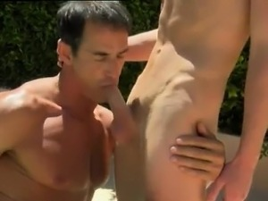 Naked man gay sex move first time With the men spunk running