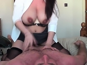 Voayercams.com-Russian Big Natural tits Milf bounce