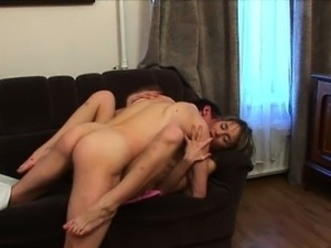 Sweet angel acquires a wild drilling from horny old teacher