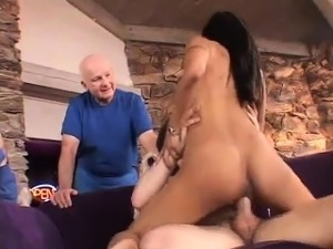 Interracial Swinging Action With Ebony Wife