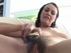 Horny MILF has her cunt drilled hard