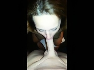 Cheating wife blowing various cocks