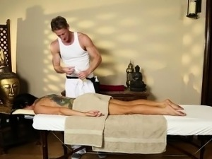 fashionable massage actions from voyeur camera