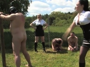 Femdom dominas torment worthless subs