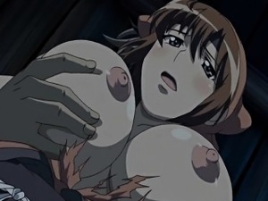 Busty Japanese gets squeezed her bigtits and hard poked