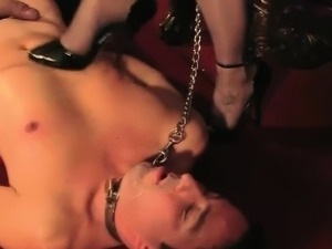British bdsm femdoms cbt for human ashtray