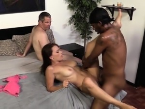 Wife cuckolds loser hubby