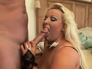 Naughty fat bitch gets slammed really hard