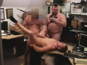 Big dick gay gangbang movie Guy finishes up with assfuck hum