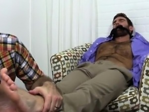 Euro naked gays sexy hairy legs feet Chase LaChance Tied Up,