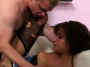 Amoral pal stuffs anal of his girlfriend by his schlong