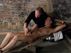 Gay bondage fetish massage first time There is a lot that Se