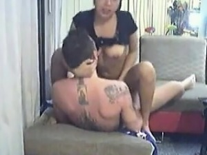 Fucking this slut asian married cheating wife on hidden cam