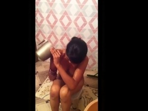Young Hot Desi Wife Undress and Shower