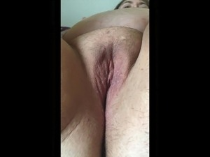 BBW cumming on a dildo and sucking