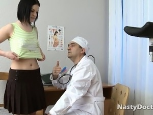 Doctor Wants To Fuck Brunette
