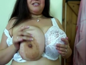 Mature mother with big juicy tits and cunt