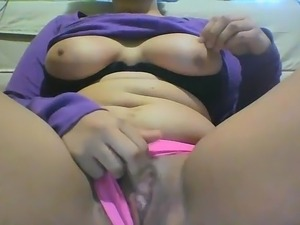 Cute Chubby squirt in panties - Part 2