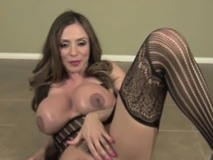 Ariella Ferrera POV Blow Job in Black Stocking